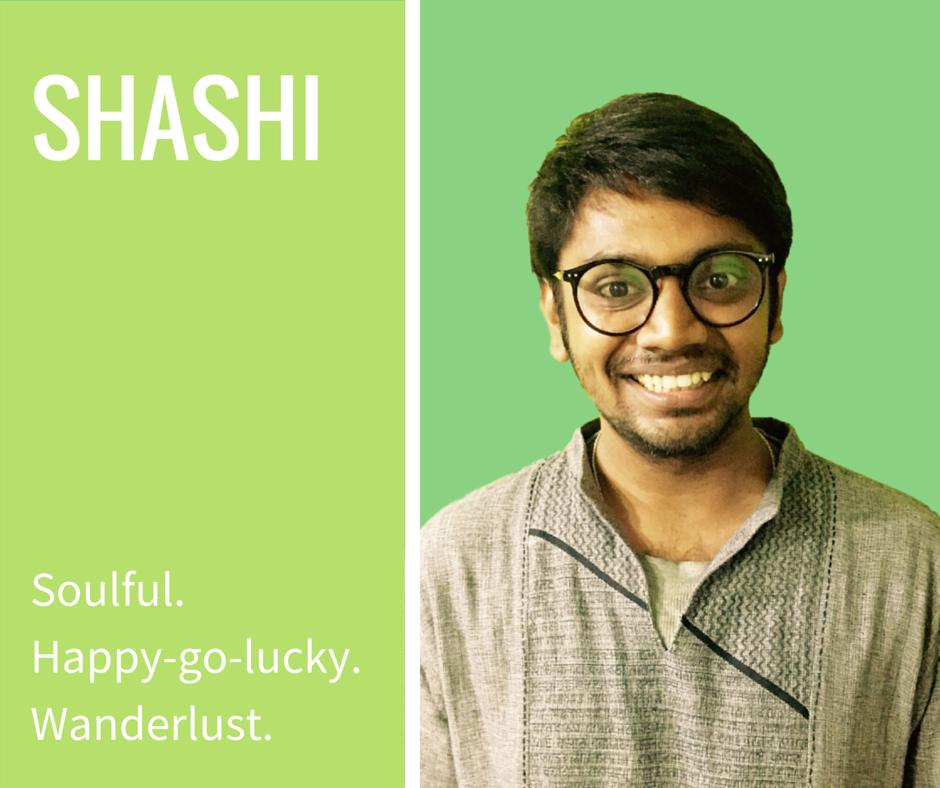 Shashi from Chennai